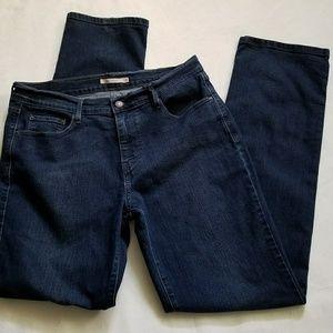 Levi's 505 straight leg jeans 12 31